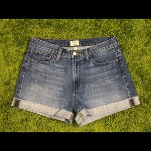 J.Crew High-rise Broken in Boyfriend Short